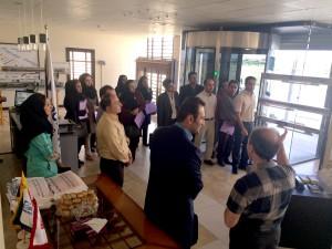 تور بازدید فعالان صنعت استان البرز از شرکت پروشاتدُر