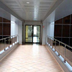 درب اتواتیک پارس جنوبی ساختمان ستاد شرکت پروشات
