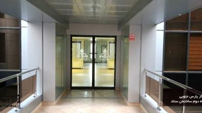 درب اتواتیک پارس جنوبی ساختمان ستاد شرکت پروشات1